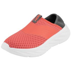 Hoka One One Ora Recovery Shoes Women Ebony/Emberglow